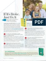 If It's Broke, Just Fix It - O Magazine, January 2012