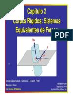 Captulo II - Corpos Rgidos e Sistemas Equivalentes de Foras