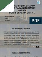Sistem Eksitasi Tanpa Sikat Pada Generator 600 Mw