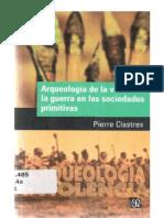 Arqueología de La Violencia La Guerra en Las Sociedades Primitivas