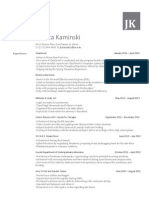 Jessica Kaminski Resume