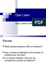 11.2 Gay-Lussac and Combined Gas Laws
