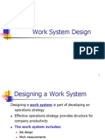 Job Design and Work Measurement