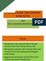 Farmasi Klinis Dan Farmasi Komunitas