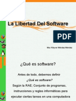 La Libertad Del Software