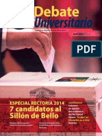 Candidatos a Rector U de Chile