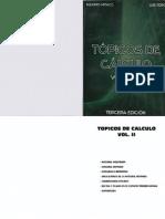 Tópicos de Cálculo Vol. II
