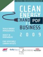 Clean Energy Handbook 2009