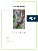 mulcahy annabel australian animals