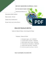 Hoja de Trabajo Grupal 070414 - Equipo 7UP - Derecho Administrativo