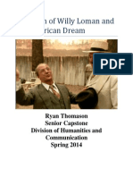 In Search of Willy Loman and the American Dream