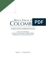Regla Fiscal Para Colombia