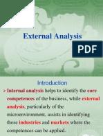 V External Analysis
