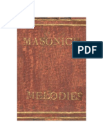 Masonick Melodies by Bro Luke Eastman (1818)