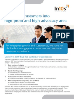 Shift more customers into high-profit and high advocacy area