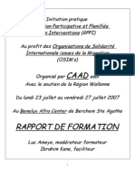 Rapport Formation 20osim 20caad 202007