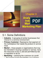 Ch 05 - Analyzing the Industry&Market and Marketing Plan