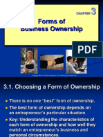 Ch 03 - Forms of Business Ownership Ok