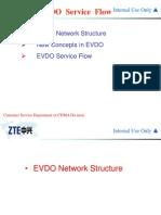 EVDO Service Flow