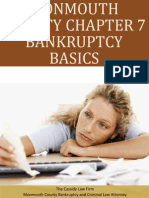 Monmouth County Chapter 7 Bankruptcy Basics