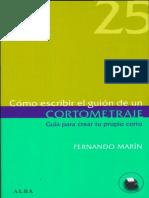 Marin Fernando - Como Escribir El Guion de Un Cortometraje