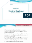 Lect-3 Central Banking