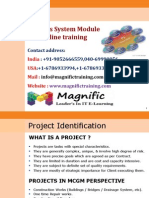 Project System Module Online Training