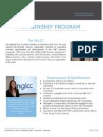 nglcc internship brochure fall 2013