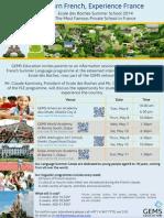 edr summer programme 2014