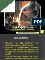 Shrinkage Porosity_yusuf Tri Wicaksono_1106009066