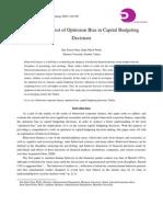 Capital Budgeting Document