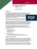 Indicator Tool Manual