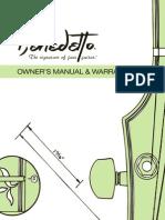 Manual and Warranty