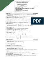Proba E c Matematica M2 Var 05 2011