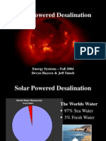 Reference - Solar Powered Desalination_final