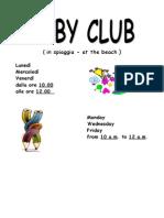 BABY CLUB 2