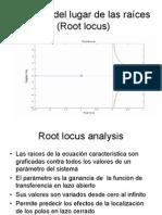 Análisis del lugar de las raíces (Root locus)
