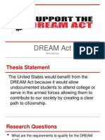 dream act powerpoint