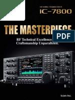 ICOM IC-7800 Brochure