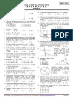Soal Dan Pembahasan Un Matematika Smp 2012