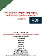 Curs 2 Semiologie