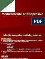 Medicamente antidepresive