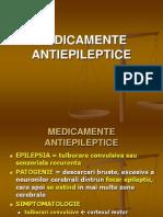 MEDICAMENTE ANTIEPILEPTICE