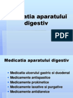 Medicatia Aparatului Digestiv - Copy