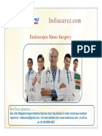India Endoscopic Sinus | Sinus Surgery in India
