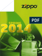 2014 Zippo Spring 2014 Catalog (GE)