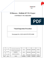 Visual Inspection Procedure 0222 160 P PT PTJ 0008