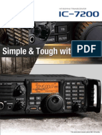ICOM IC-7200 Brochure