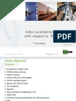 India Localization CIN