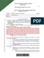 Draft tree law bill